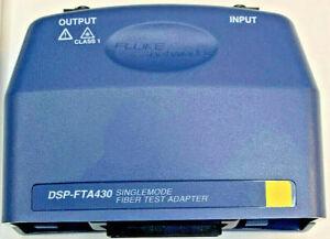 Fluke DSP-FTA430 SM Fiber Optic Module for Fluke DSP-4000 DSP-4300