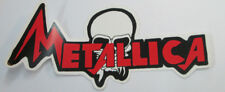 Metallica Sticker 90'S Metal Super Large Collectible Rare Vintage