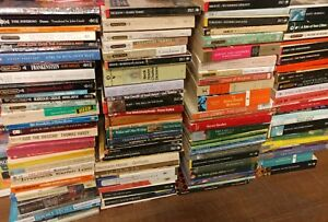 Lot of 10 Classic Paperback Literature Book Penguin Orwell Dickens Steinbeck Mix