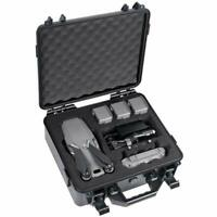 DJI Mavic 2 Pro/Mavic 2 Zoom Fly More Combo Waterproof Case Fits Extra Batteries