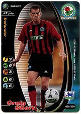 Craig Corto Blackburn Rovers #30 Campeones de fútbol TCG 2001-2 tarjeta de comercio (C245)