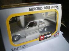 Mercedes 500SEC 1/26  0111 Burago w126 comme Neuf en boite 1/24 1981-1991