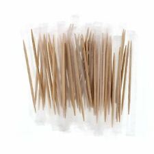 100 Toothpicks Cello Wrapped  6.5 Cm Double Side Pointed - hygiene Party Supply