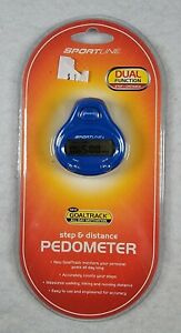 Walking By Sportsline Step And Distance Pedometer - Free Shipping - Brand New