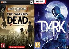 the walking dead (USED) & dark (NEW&SEALED)