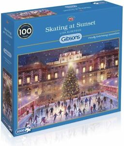 Gibsons Jigsaw Puzzle Skating at Sunset - 1000 Pieces
