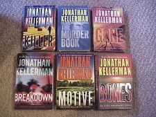 Lot of 6 Alex Delaware by Jonathan Kellerman (2002-2016 Hardcover) Free Shipping