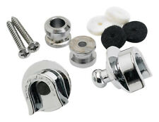 Fender Security Strap Locks & Buttons, Chrome (NEW)