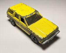 Vintage 1981 Hot Wheels Yellow Dodge Aries Wagon 1/64 Diecast