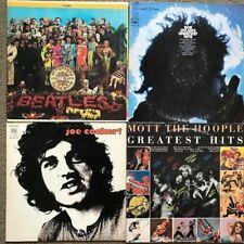 New Listing 4 Lp Classic Rock Lot - Beatles, Mott The Hoople, Bob Dylan, Joe Cocker