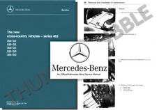 Mercedes G-WAGEN Service Workshop Repair Manual 200 230 300 250 300 GE GD Wagon