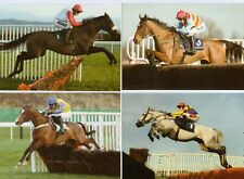 12 Horse Racing Postcards / Notelet cards, 3 each of 4 designs, National Hunt