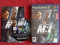 MISSION IMPOSSIBLE OPERATION SURMA ORIGINAL BLACK LABEL SONY PLAYSTATION 2 PS2