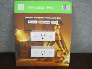~NOP~ Wemo Wi-Fi Smart Plug 2-pack Works w/Google, Apple Home & Alexa