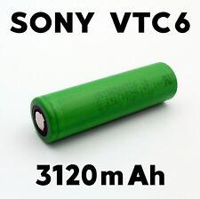 1x Sony Konion Murata US VTC6 18650 Flat Top Akku Zelle - 3120mAh 3.7V 30A