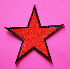Stella ROSSA ricamate patch Rockabilly Punk Antifa Red Star punkrock aufbügler
