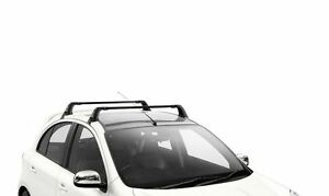 Genuine Nissan Micra 08/13 - 2016  Roof Bars - Black Steel (KE7301H000)