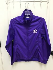 Pearl Izumi Men's Small Purple Full Zip Cycling Windbreaker Jacket