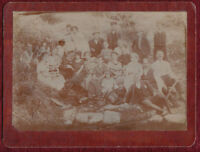 Original 1920 Photo Greece Serbia Familly People Costume Spring