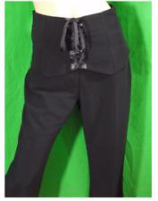 MORGAN taille 36 superbe pantalon noir femme black trousers