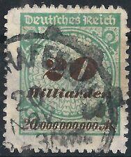 "Korbdeckel MiNr. 329BP Infla Berlin geprüft mit Handbuchplattenfehler ""PE3"""