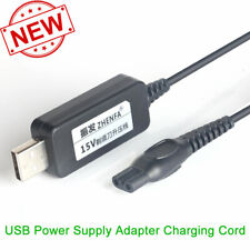 USB Power Adapter Charger Cord Philips AT890 AquaTouch Wet & Dry Electric Shaver