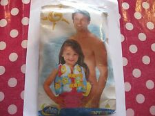 Child's Inflatable Water Safety Swimming Jacket Brand New in Original Packaging