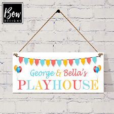 038.3 PERSONALISED HANGING PLAYHOUSE SIGN