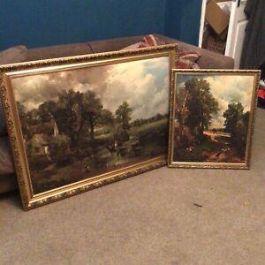 John Constable prints Reproductions -The Cornfield & The Haywain
