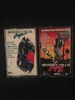 Beverly Hills Cop 1 And 2 Movie Soundtracks Cassettes 80s Eddie Murphy