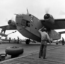 WW2  Photo WWII US Navy PBY Martin Mariner 1942  World War Two / 5324