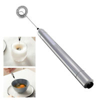 Portable Drink Mixer Milk Frother Wand Small Handheld Electric Stick Blender
