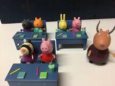 Peppa Pig School Set With Madam Gazelle