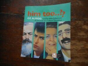 Him Too..?? Concise Index Judaeorum A Chronicle Of  A Cultural Obsession Book
