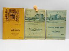 Vintage - 3 INTERNATIONALCORRESPONDENCE SCHOOLS - Home Study Metalworking Books