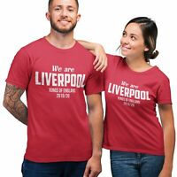 Red Liverpool Shirt Kings of England Football Hoody Top tshirt Supporters Gifts