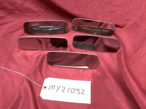 """1964-1966 FORD MUSTANG 7 1/2"""" REAR VIEW MIRROR - LOT OF 5"""