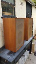 Vintage Radford Monitor Speaker Cabinets Kef B139 Celestion HF1300 3 way