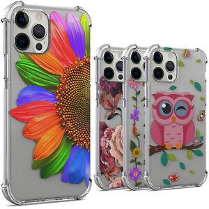 For Apple iPhone 13 Pro Max Phone Case Slim Transparent Cover Soft Bumper TPU