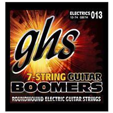GHS Strings GB7H Boomers 7-String Heavy Electric Guitar Strings (13-74) +Picks