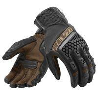 Rev'it Sand 3 Mesh Adventure MX Motorcycle Gloves Black Sand  Revit Rev'it!