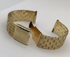 14K YELLOW GOLD WATCH BAND 17MM