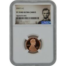 2007-S Lincoln Penny Proof Coin NGC PF70 Ultra Cameo