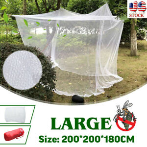 Large Mosquito Camping Net Indoor Home Bed Outdoor Portable Netting Storage Bag