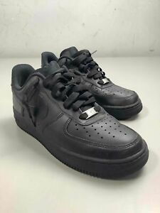 Men's Nike Air Force 1 '07 'Black' Shoes Size 7.5