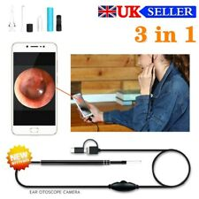 3 in 1 Ear Wax Remover Camera Ear Endoscope Spoon Pick Cleaning Kit HD USB