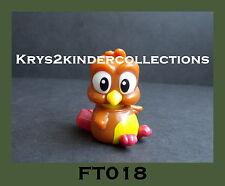 Jouet kinder Natoons Oiseau FT018 France 2013 +BPZ
