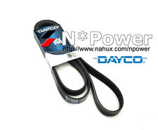 DAYCO RIB DRIVE BELT FOR FORD FOCUS 7.2007-03.2009 2.0L DOHC LT DURATEC