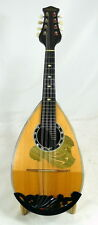 Japan Suzuki NO.6 bowlback solid Spruce & Maple Mandolin, hard case, OJMN130