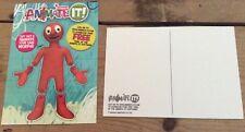 Aardman Animation Wallace & Gromit Morph promotional postcard 2012 new